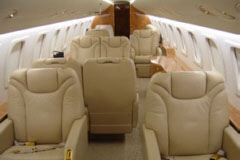Interior photo of Embraer EMB-135-BJ