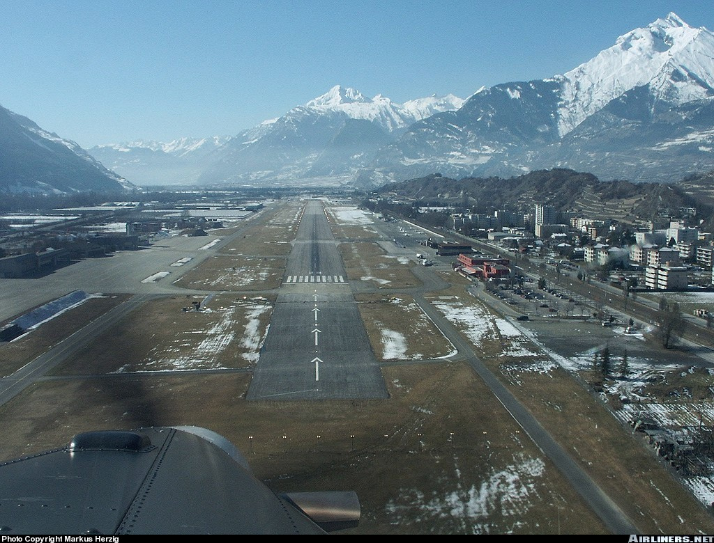 Sion Switzerland  city photos gallery : Sion Airport Sion, SWITZERLAND