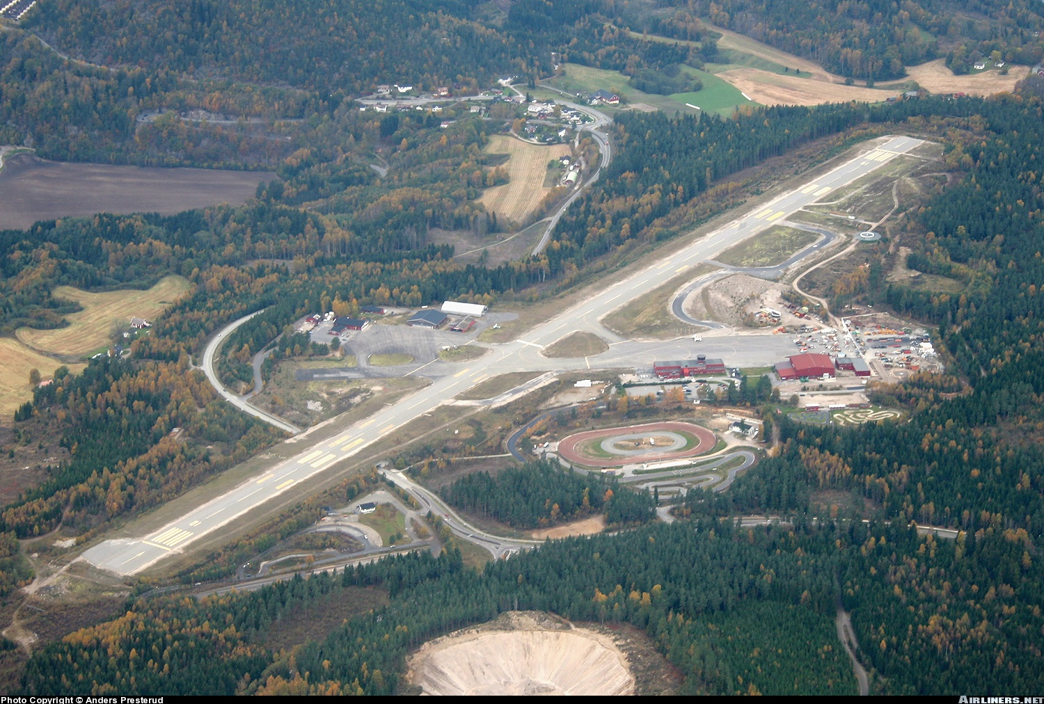 Skien Norway  city photos : Skien Geiteryggen Airport Skien, NORWAY