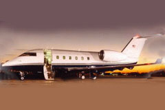 Exterior photo of CANADAIR CL-600
