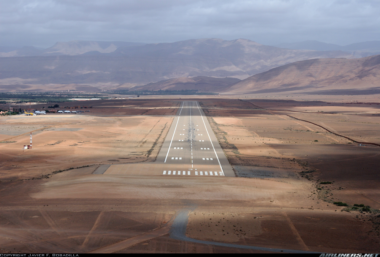 Errachidia Morocco  city images : Moulay Ali Cherif Airport Errachidia, MOROCCO